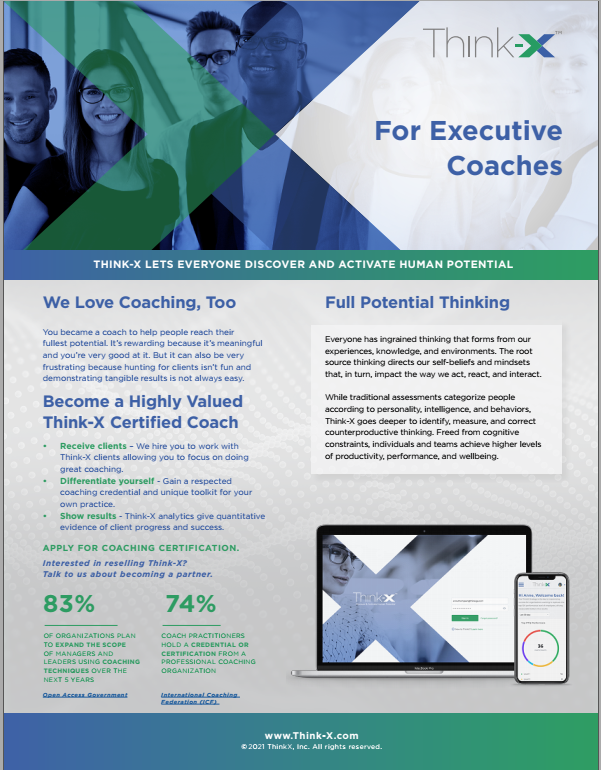 Think-X for Coaches Downloadable PDF